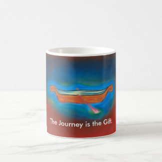 The Journey is the gift mug