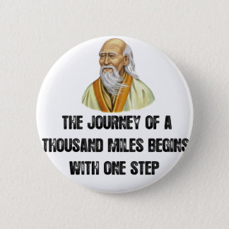the journey of a thousand miles begins with a sing button