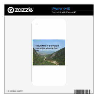 The journey of a thousand step skins for the iPhone 4