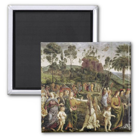 The Journey of Moses, c.1481-83 Magnet