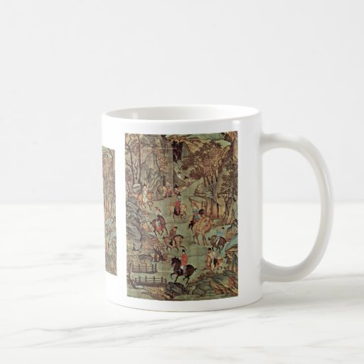 The Journey Of The Emperor Ming Huang Shu After By Coffee Mug