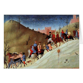 The Journey Of The Magi, A Fragment Of A Picture Greeting Card