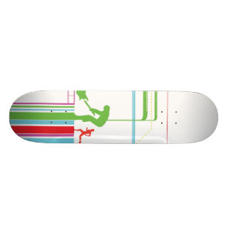 the journey skate board deck