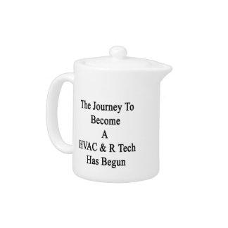 The Journey To Become A HVAC R Tech Has Begun Teapot