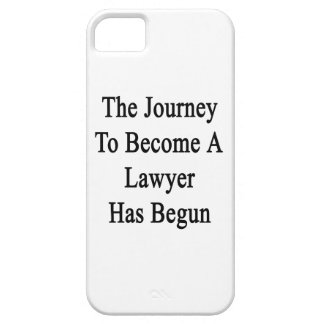 The Journey To Become A Lawyer Has Begun iPhone SE/5/5s Case