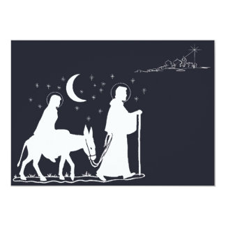 The Journey To Bethlehem 5x7 Paper Invitation Card