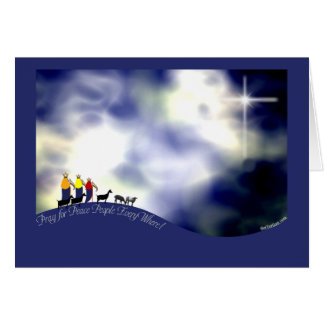 The Journey to Bethlehem Greeting Cards