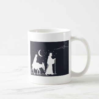 The Journey To Bethlehem Coffee Mug