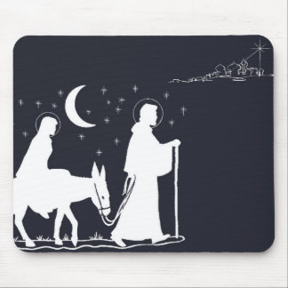 The Journey To Bethlehem Mouse Pad