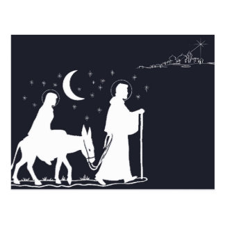 The Journey To Bethlehem Post Card