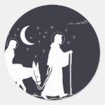 The Journey To Bethlehem Sticker