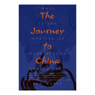 The Journey to China poster