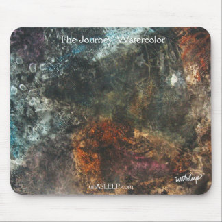 'The Journey' Watercolor mouse pad