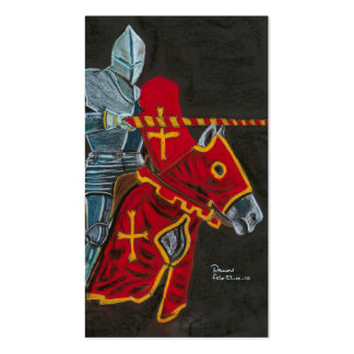 the jouster business card