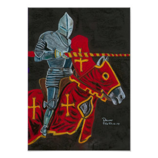 the jouster print