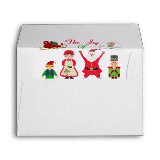 The Joy Of Christmas Collage Envelope