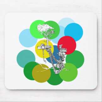 The Joy of Color - art by Patrick Janicke Mouse Pad