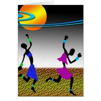The Joy Of Dance Card