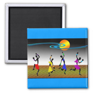 The Joy Of Dance Refrigerator Magnet