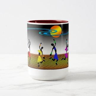 The Joy Of Dance Two-Tone Coffee Mug