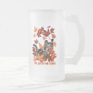 The Joy Of Fall Leaves Mug
