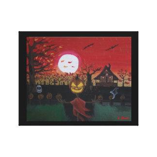 The joy of Halloween Canvas Print