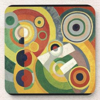 The Joy of Life by Robert Delaunay Beverage Coaster