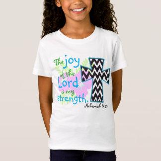 The joy of the Lord bible verse Nehemiah T-Shirt