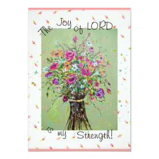 The Joy of the Lord  invitation