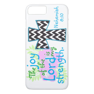 The joy of the Lord is my strength bible verse iPhone 8 Plus/7 Plus Case