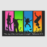The Joy of the Lord is your strength Nehemiah 8:10 Sticker