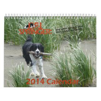 The Joyful Springer 2014 Calendar