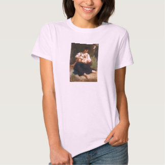 The Joys Of Motherhood by William Bougereau T Shirt