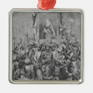 The Jubilee in the East- An Allegory, 1887 Metal Ornament