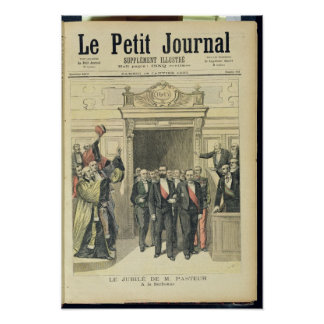 The Jubilee of Louis Pasteur  at the Sorbonne Poster