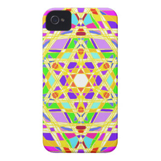 The Judaical vitrail. iPhone 4 Cover