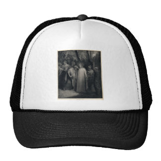 The Judas Kiss by Gustave Dore Trucker Hat