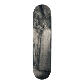 The Judas Kiss Mark 14:45 by Gustave Doré 1866 Skateboard