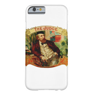 The Judge Vintage Cigar Box Label Barely There iPhone 6 Case