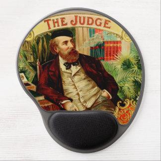 The Judge Vintage Cigar Box Label Gel Mouse Pad