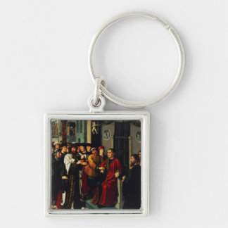 The Judgement of Cambyses, 1498 Keychain