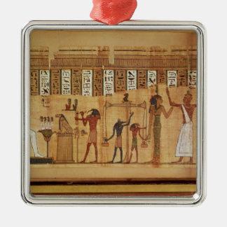 The Judgement of Osiris, detail Metal Ornament