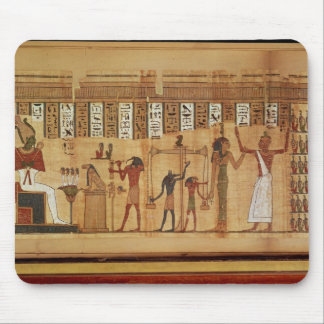The Judgement of Osiris, detail Mouse Pad
