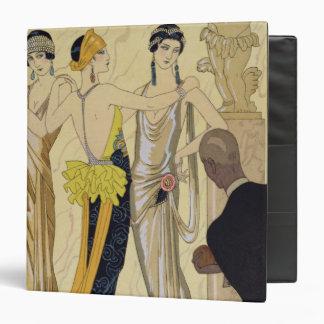 The Judgement of Paris, 1920-30 (pochoir print) 3 Ring Binder