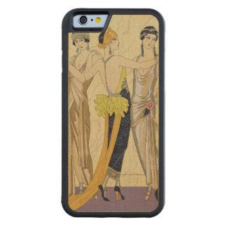 The Judgement of Paris, 1920-30 (pochoir print) Carved Maple iPhone 6 Bumper Case