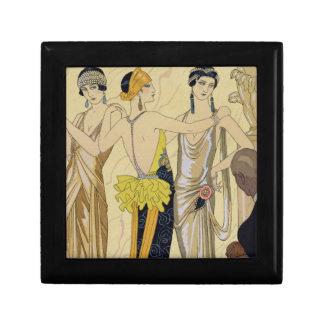 The Judgement of Paris, 1920-30 (pochoir print) Jewelry Boxes