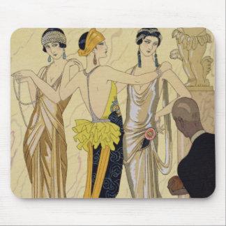 The Judgement of Paris, 1920-30 (pochoir print) Mouse Pad