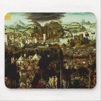 The Judgement of Paris and the Trojan War, 1540 Mouse Pad
