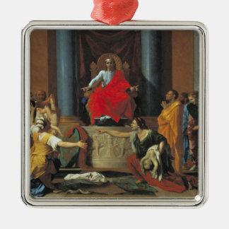 The Judgement of Solomon, 1649 Metal Ornament