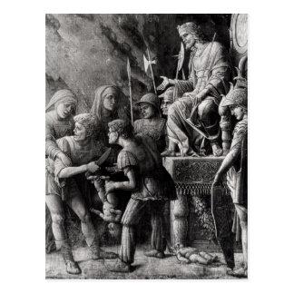 The Judgement of Solomon Postcard